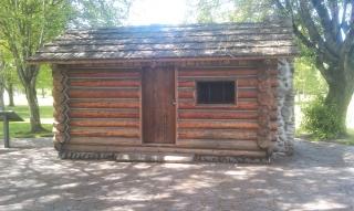Skinner Butte Cabin-Front (Replica)