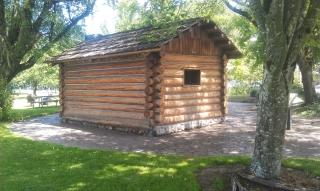 Skinner Butte Cabin-Angle (Replica)
