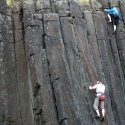 Skinner's Butte Climbing Columns - Climbers