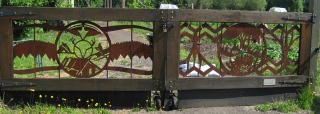 Skinner City Farm Gates