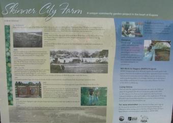 Skinner City Farm Sign