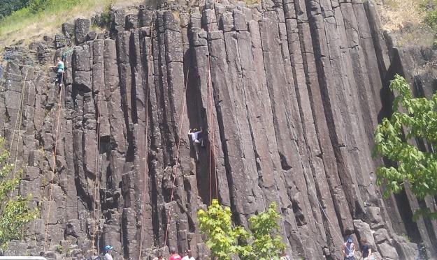 Skinner's Butte Climbing Columns