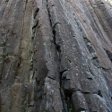 Skinner\'s Butte Climbing Columns - Closeup