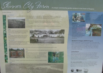 Skinner City Farm Sign